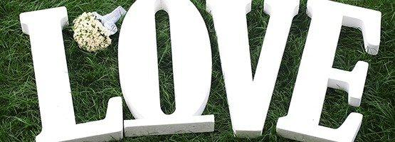 Объемные буквы из пенопласта — красиво и недорого!