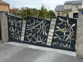 Ворота «Узоры»