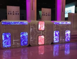 Рекламные конструкции и световые вывески